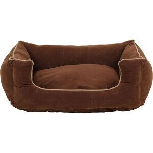Carolina Pet Company キャロライナペット ペットグッズ 犬用品 ベッド・マット・カバー ベッド【Memory Foam Microfiber Low Profile Kuddle Lounge】Brown