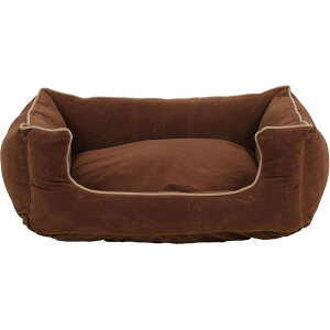 Carolina Pet Company キャロライナペット ペットグッズ 犬用品 ベッド・マット・カバー ベッド【Orthopedic Microfiber Low Profile Kuddle Lounge】Brown