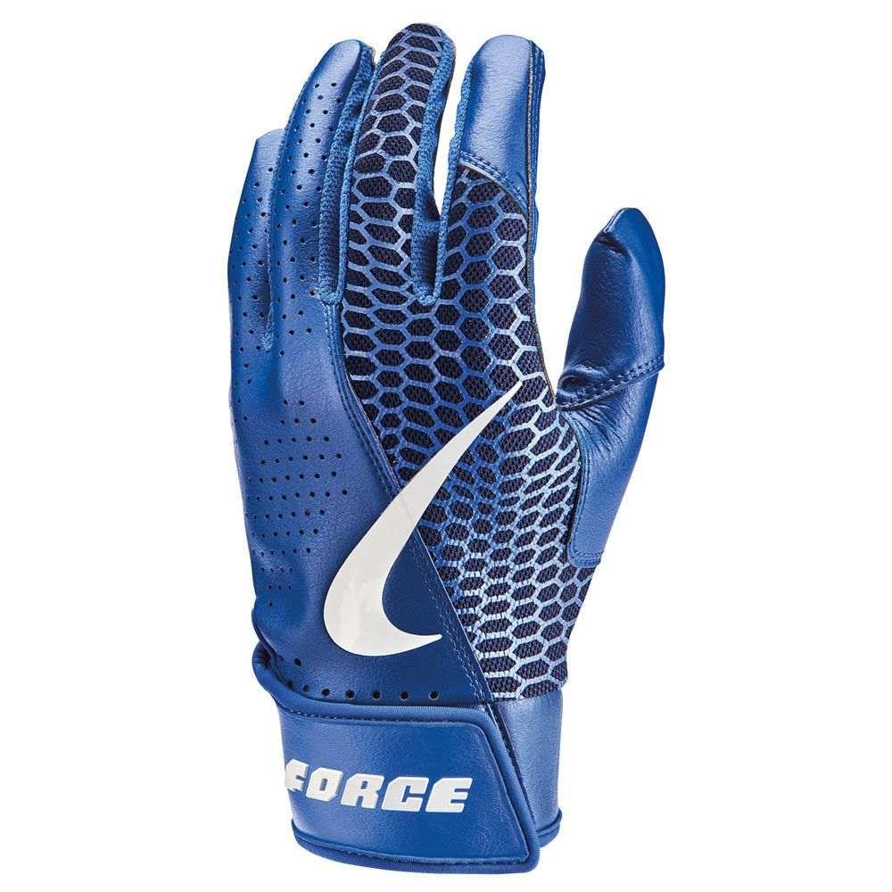 野球・ソフトボール, バッティンググローブ  Nike Force Edge Adult Baseball Batting GloveRoyal