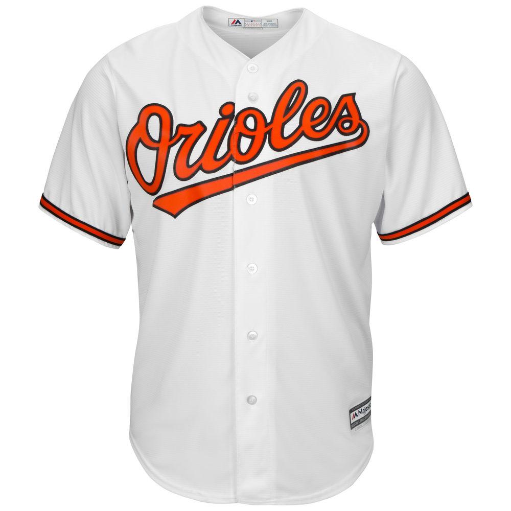 マジェスティック Majestic メンズ トップス【Baltimore Orioles Adult Cool Base Replica Jersey】White