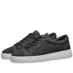 ETQ ETQ. Amsterdam メンズ シューズ・靴 スニーカー【ETQ. Low Top 1 Knitted Sneaker】Charcoal