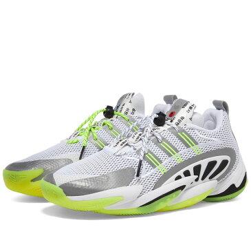 アディダス Adidas Consortium メンズ スニーカー シューズ・靴【Adidas x UBIQ Crazy BYW】White/Solar Yellow/Black