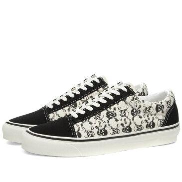 ヴァンズ Vans メンズ スニーカー シューズ・靴【Old Skool 36 DX】Skulls/Black/White