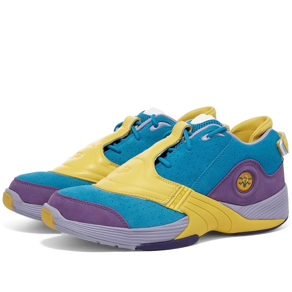 メンズ靴, スニーカー  Reebok Answer V x BBC IcecreamBlueYellowPurple