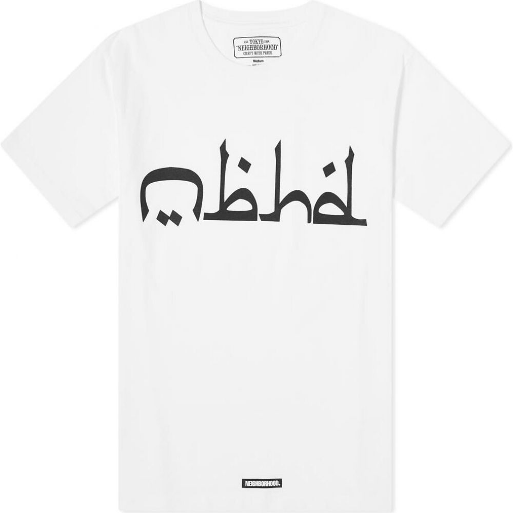 トップス, Tシャツ・カットソー  Neighborhood T Abjad TeeWhite