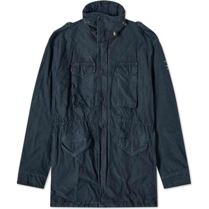 ビズビム Visvim メンズ ジャケット アウター【Bickle Damaged Jacket】Navy