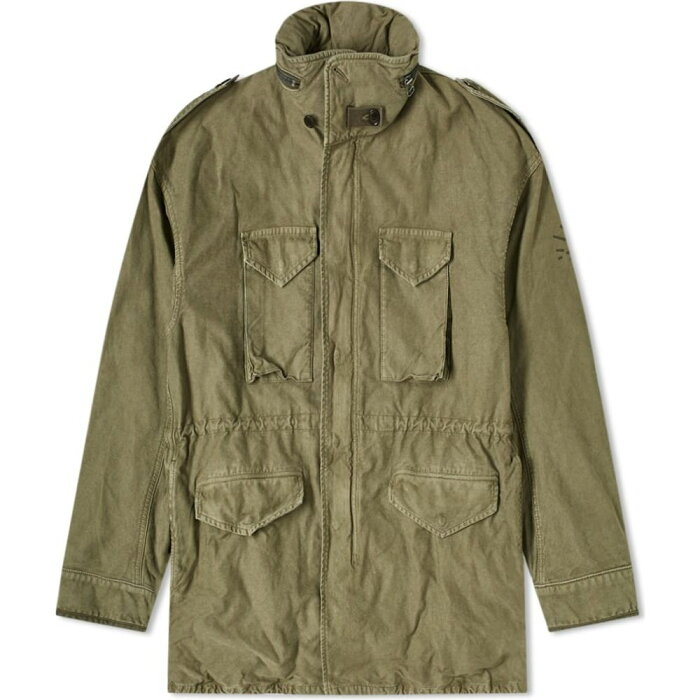 ビズビム Visvim メンズ ジャケット アウター【Bickle Damaged Jacket】Olive