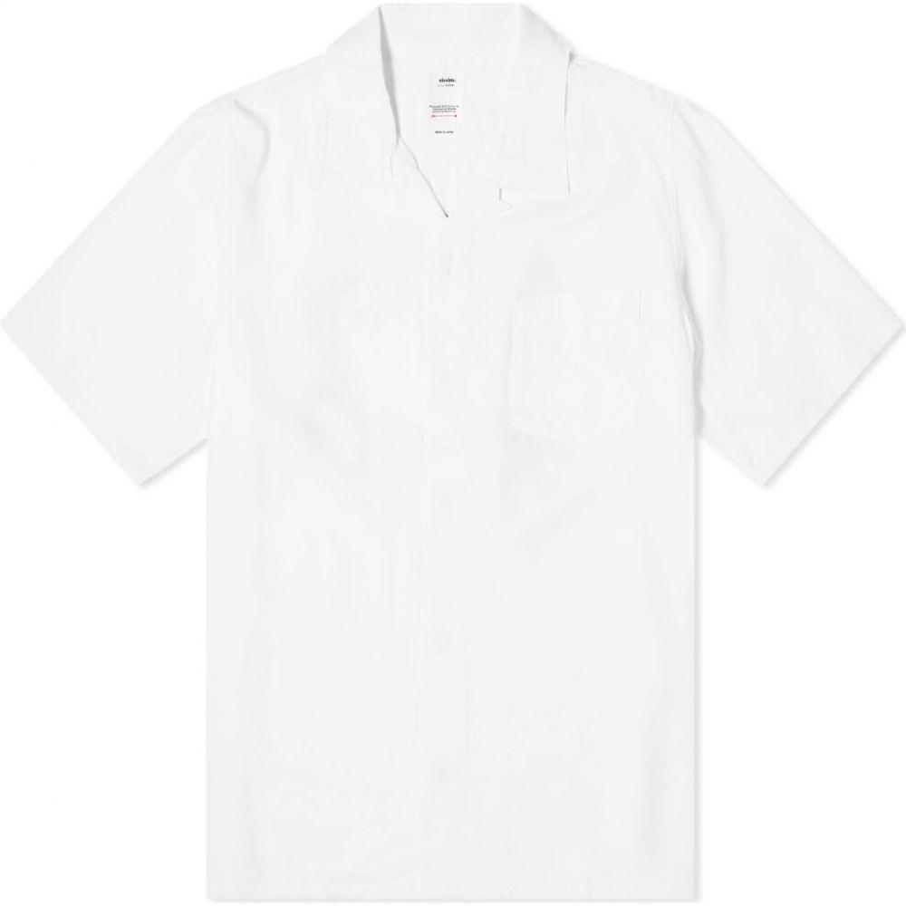 トップス, カジュアルシャツ  Visvim free edge shirtWhite
