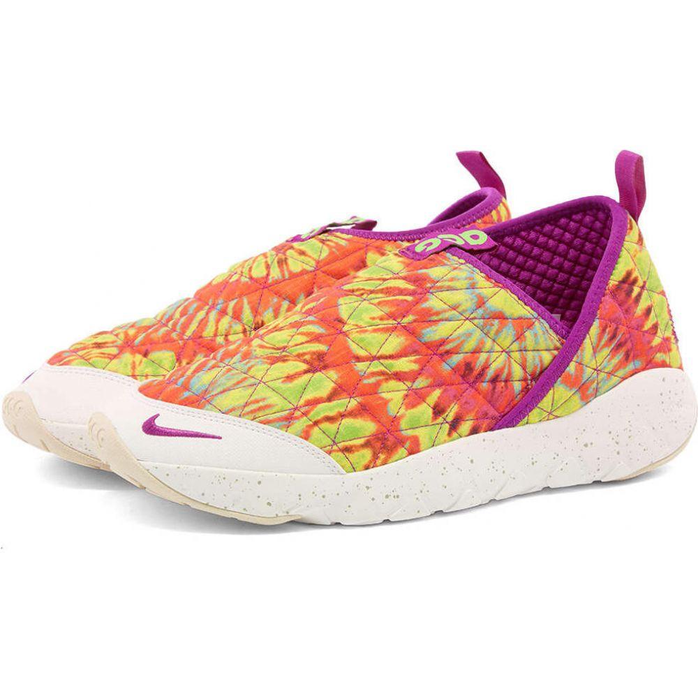 ナイキ Nike メンズ スニーカー シューズ・靴【acg moc 3.0】Green Strike/Vivid Purple画像