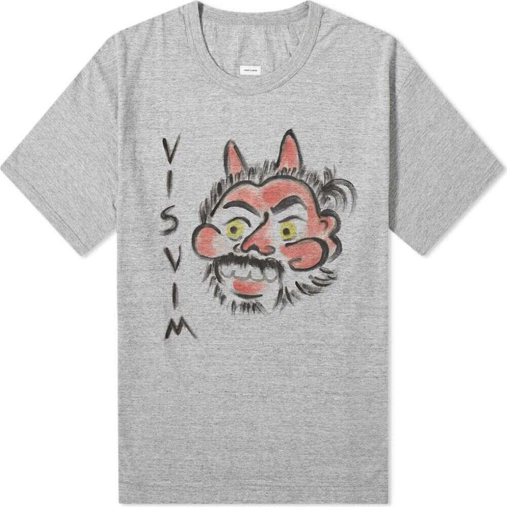 トップス, Tシャツ・カットソー  Visvim T jumbo aka-oni teeGrey