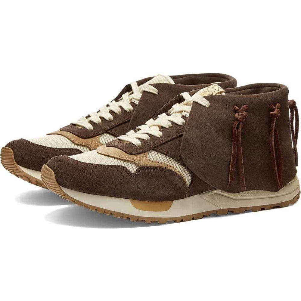 メンズ靴, スニーカー  Visvim roland lhamo joggerDark Brown