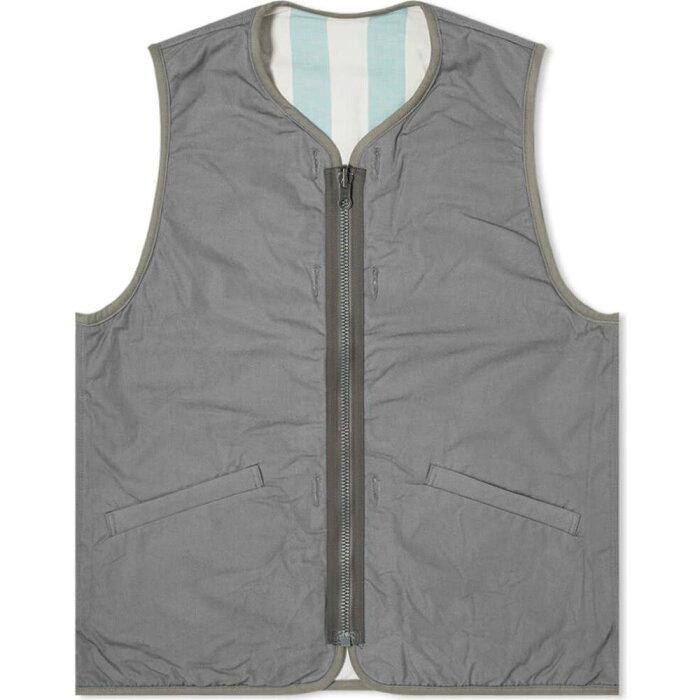 ビズビム Visvim メンズ ベスト・ジレ トップス【Iris Liner Vest】Grey