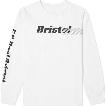 エフシーレアルブリストル F.C. Real Bristol メンズ 長袖Tシャツ トップス【Long Sleeve Stencil Tee】White