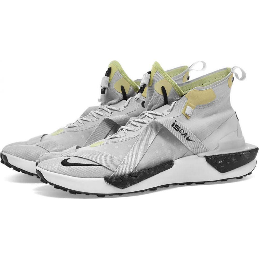 ナイキ Nike メンズ スニーカー シューズ・靴【ISPA Drifter Split】Grey Fog/Black/Olive画像