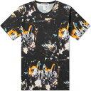 コム デ ギャルソン Comme des Garcons SHIRT メンズ Tシャツ トップス【Futura Print A Allover Tee】Black