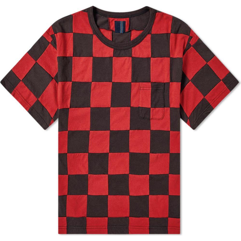 トップス, Tシャツ・カットソー  Visvim T Jumbo Check TeeRed