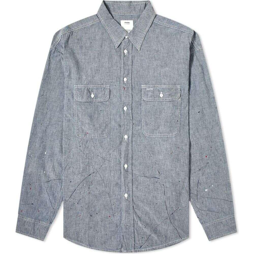トップス, ワイシャツ  Visvim Lumber ShirtLight Indigo