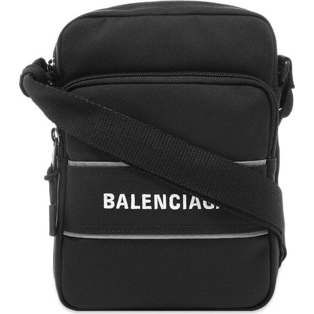 メンズバッグ, ショルダーバッグ・メッセンジャーバッグ  Balenciaga sports messenger bagBlack