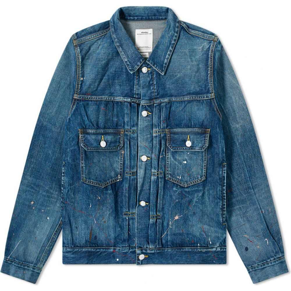 メンズファッション, コート・ジャケット  Visvim social sculpture 101 jacketDry Damaged
