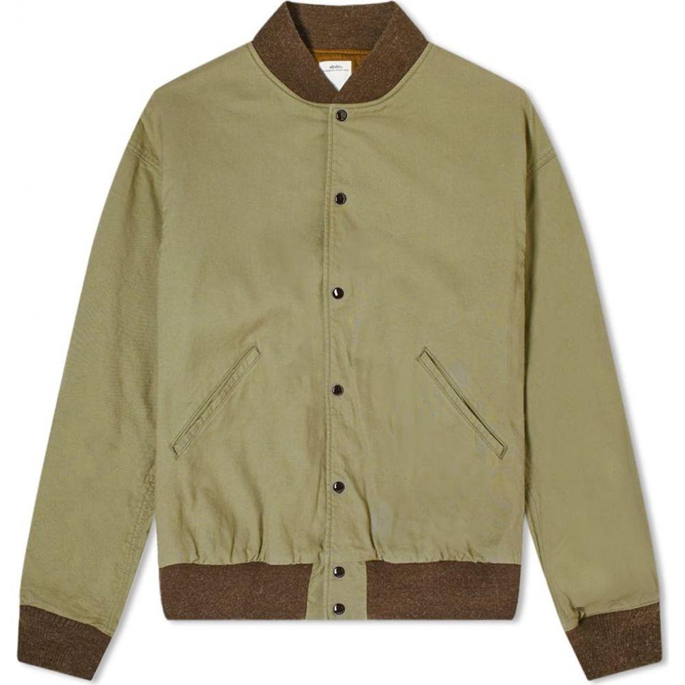 メンズファッション, コート・ジャケット  Visvim varsity sb jacketOlive