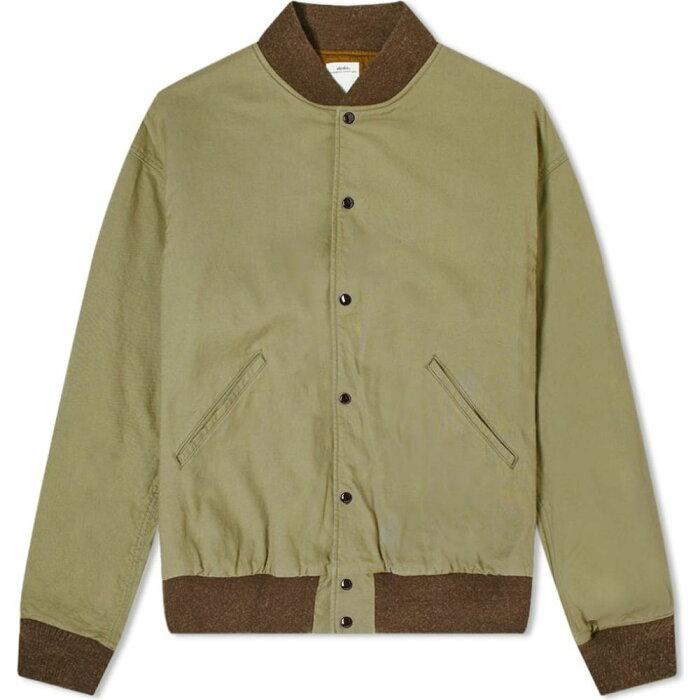 ビズビム Visvim メンズ ブルゾン アウター【varsity sb jacket】Olive