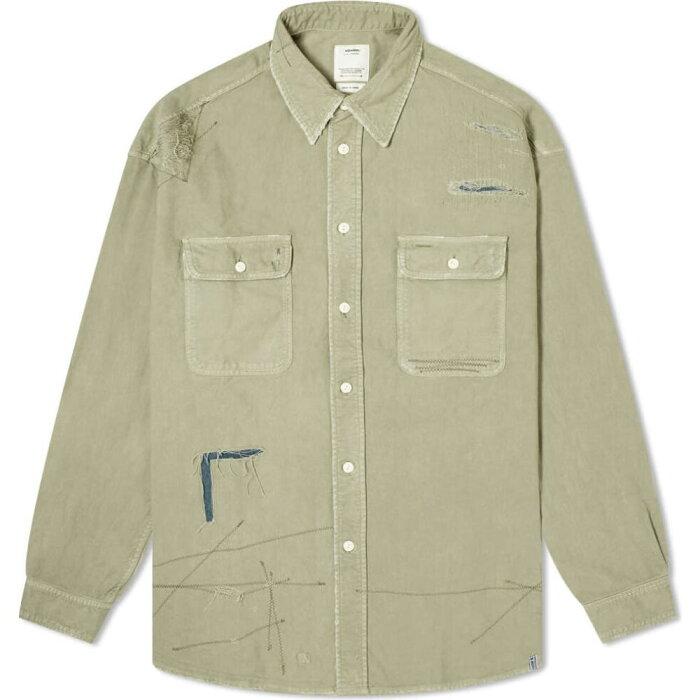 ビズビム Visvim メンズ シャツ トップス【grand river shirt】Olive