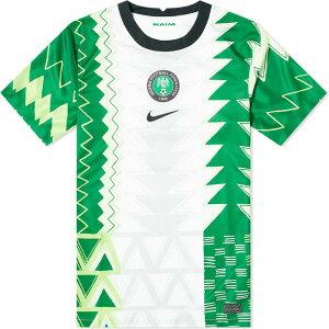 ナイキ Nike メンズ Tシャツ トップス【nigeria home stadium jersey】White/Black
