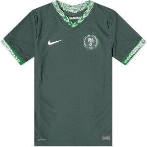 ナイキ Nike メンズ Tシャツ トップス【nigeria away match jersey】Seaweed/White