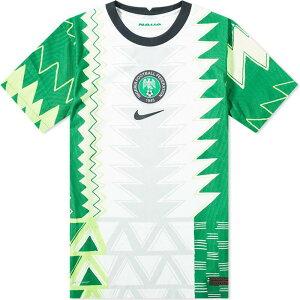 ナイキ Nike メンズ Tシャツ トップス【nigeria home match jersey】White/Black
