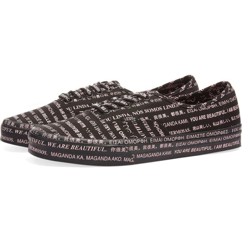 メンズ靴, スニーカー  Vans UA We Are Beautiful AuthenticBlack