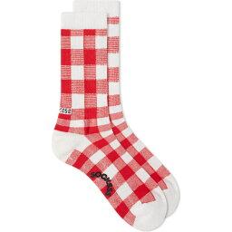 Socksss メンズ テニス ソックス【Tennis Sock】Fratelli Check