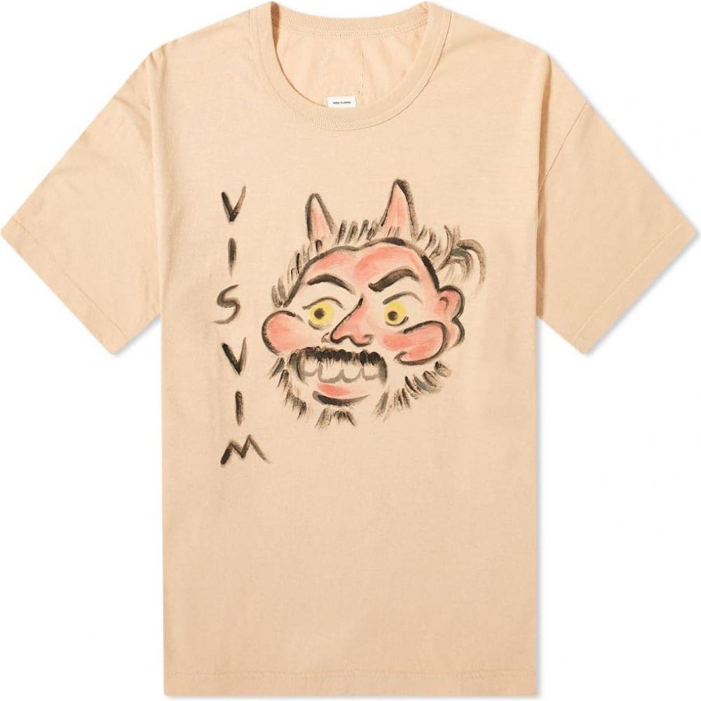 トップス, Tシャツ・カットソー  Visvim T Jumbo Aka-Oni TeePink