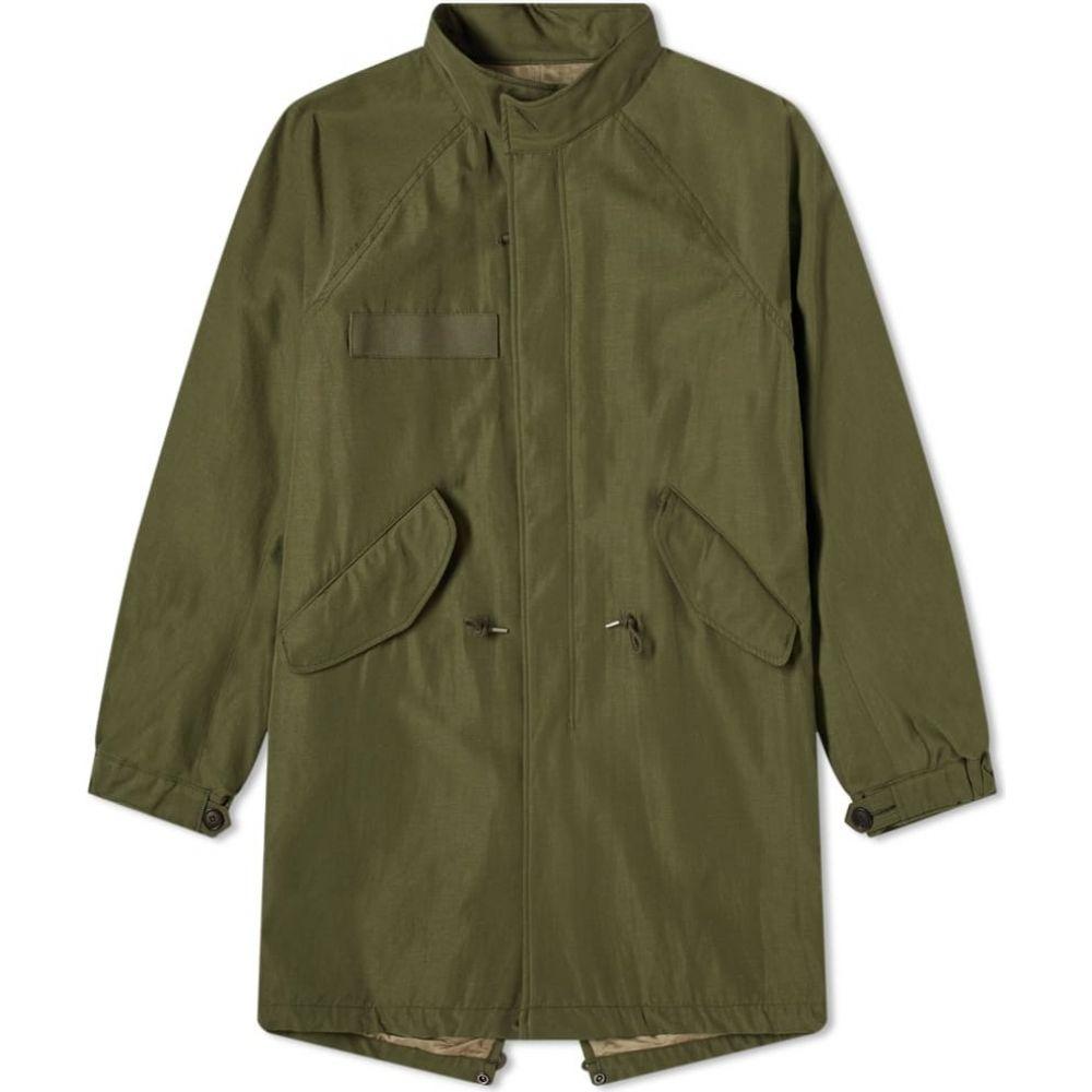 メンズファッション, コート・ジャケット  Visvim Six-Five Fishtail ParkaOlive