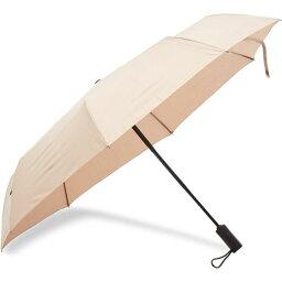 ロンドンアンダーカバー London Undercover メンズ 傘 【Light Roast Auto-Compact Umbrella】Light Brown