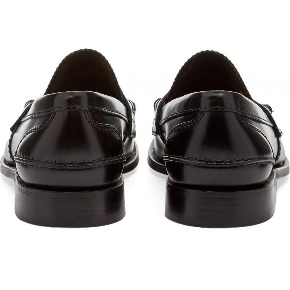 チャーチChurchsメンズローファーシューズ・靴【church'stunbridgebookbinderleatherpennyloafer】Black