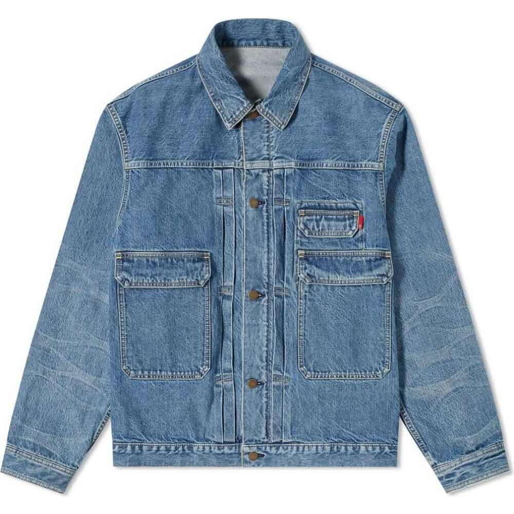 メンズファッション, コート・ジャケット  Undercover washed denim jacketIndigo