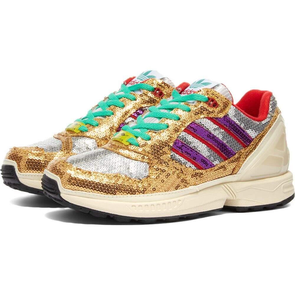 レディース靴, スニーカー  Adidas zx 6000 wWhiteShock PurpleMist Sun