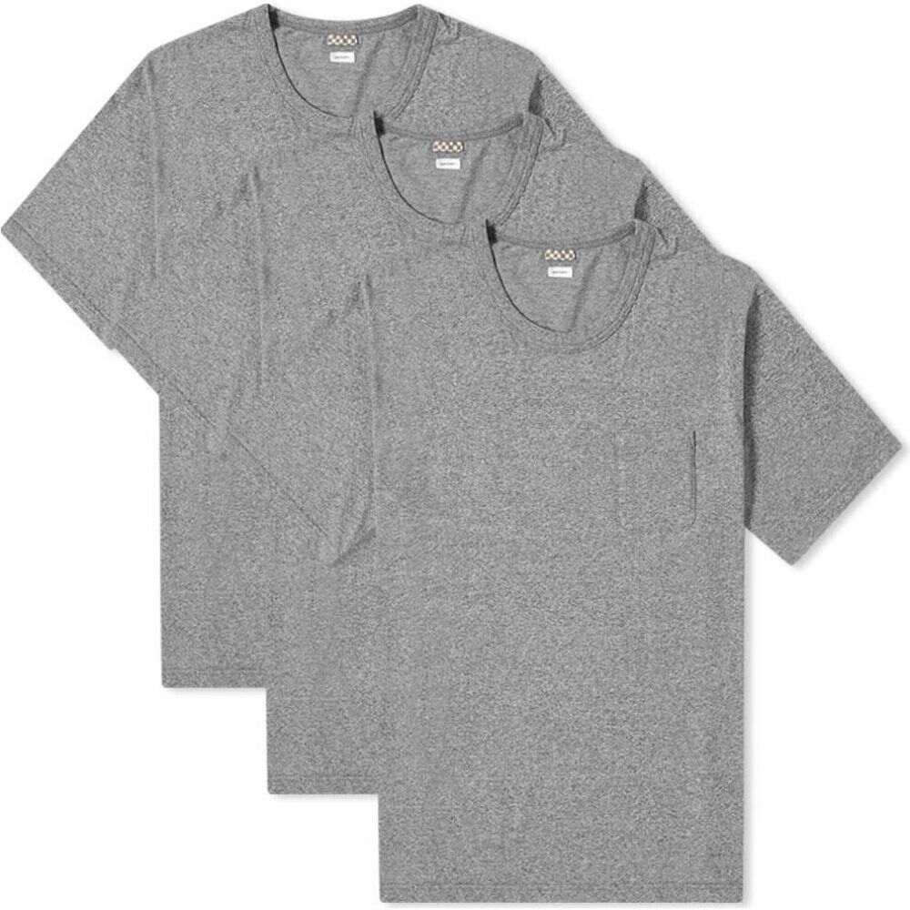 トップス, Tシャツ・カットソー  Visvim T 3 Sublig Jumbo Tee - 3 PackGrey