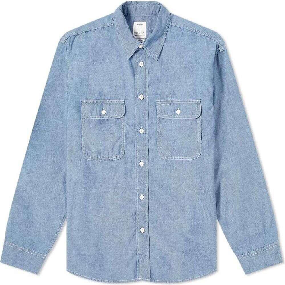 トップス, ワイシャツ  Visvim Albacore Lumber Chambray ShirtLight Indigo