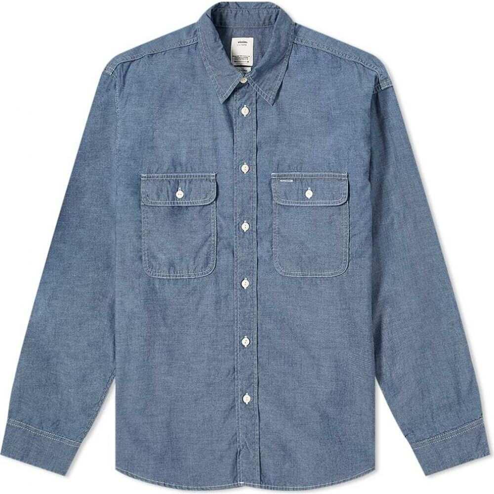 トップス, ワイシャツ  Visvim Albacore Lumber Chambray ShirtIndigo