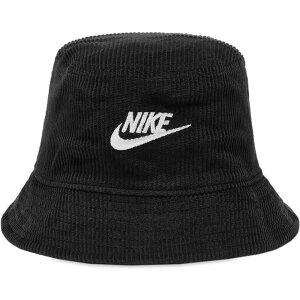 ナイキ Nike メンズ ハット バケットハット 帽子【Corduroy Bucket Hat】Black/White