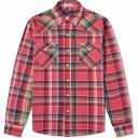 ラルフ ローレン Polo Ralph Lauren メンズ シャツ トップス【Madras Check Pocket Shirt】Pink/Blue