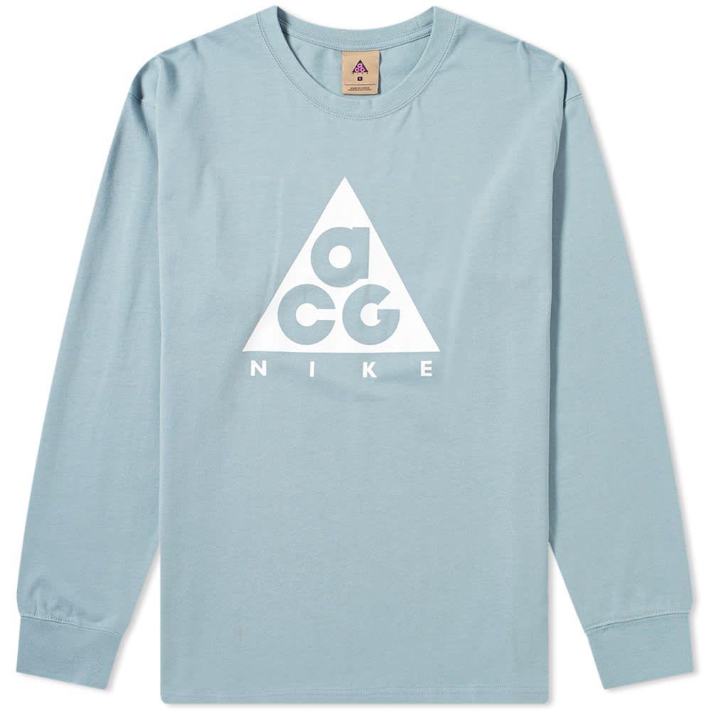 トップス, Tシャツ・カットソー  Nike T T long sleeve acg logo teeAviator GreyWhite