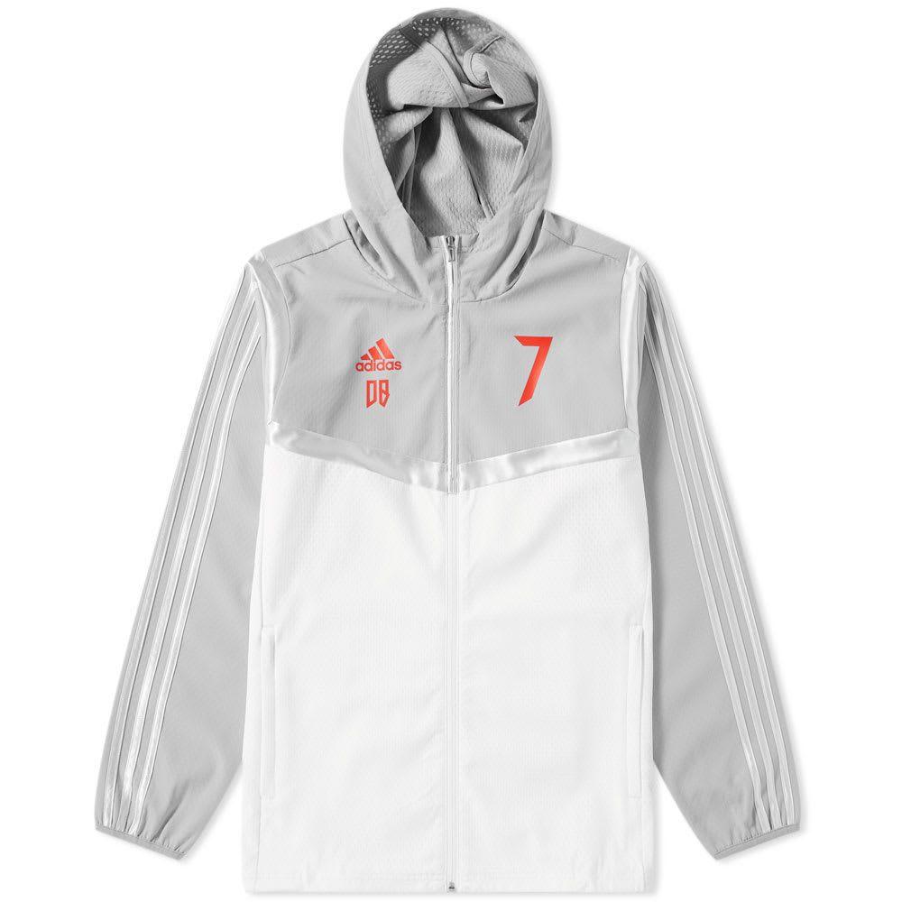 メンズファッション, コート・ジャケット  Adidas Consortium predator beckham jacketWhiteLight Grey