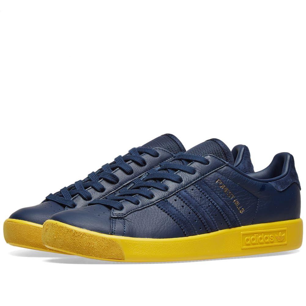 メンズ靴, スニーカー  Adidas forest hills samstag packNight IndigoYellow