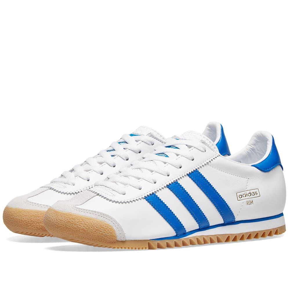メンズ靴, スニーカー  Adidas romWhiteRoyalGrey