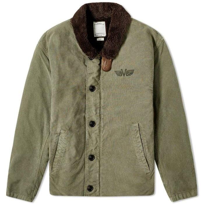 ビズビム Visvim メンズ ジャケット アウター【Deckhand Jacket】Olive