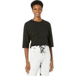 ラメイド LAmade レディース ベアトップ・チューブトップ・クロップド Tシャツ トップス【Lorna Crop Tee in Tissue Jersey】Black