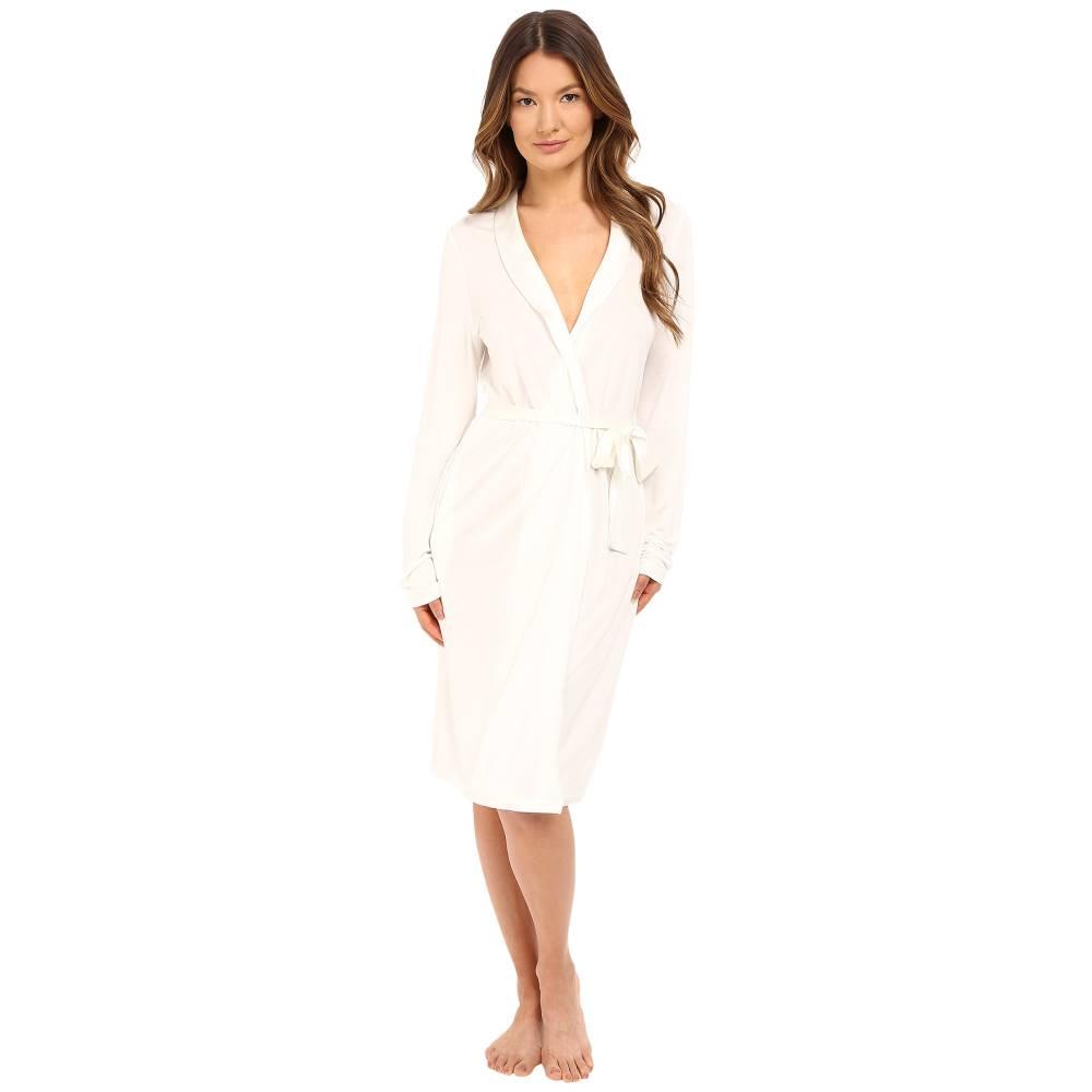 ラ ペルラ La Perla レディース インナー バスローブ【Windflower Robe】White:フェルマート