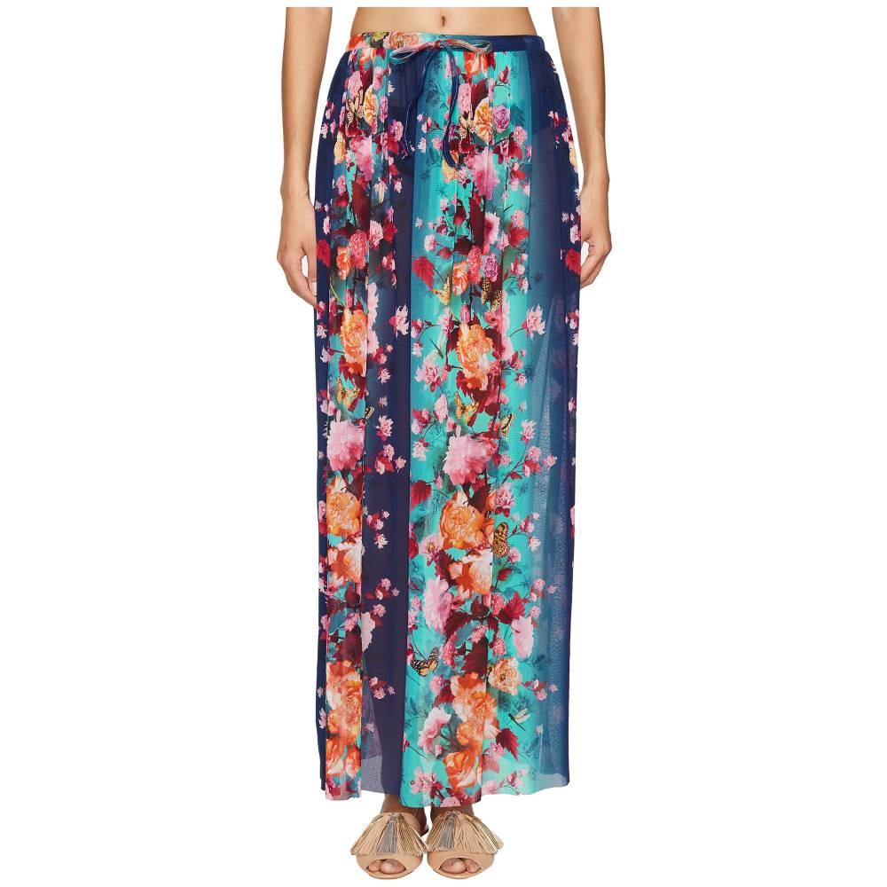 ファジー FUZZI レディース スカート カジュアルスカート【Single Layer Flower Print Skirt】Maldive:フェルマート